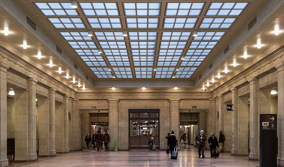 union station fit up